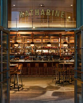 The Katharine Brasserie Bar with chairs